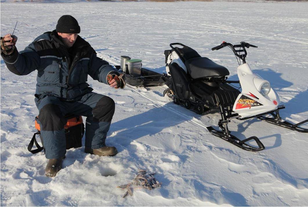 снегоход для рыбалки екатеринбург